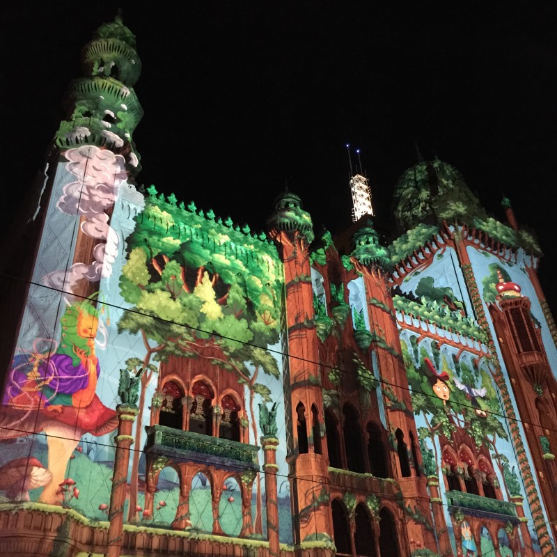 White Night 2015 Melbourne Flinders street