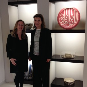 Reem Habayeb and Cathy Becq