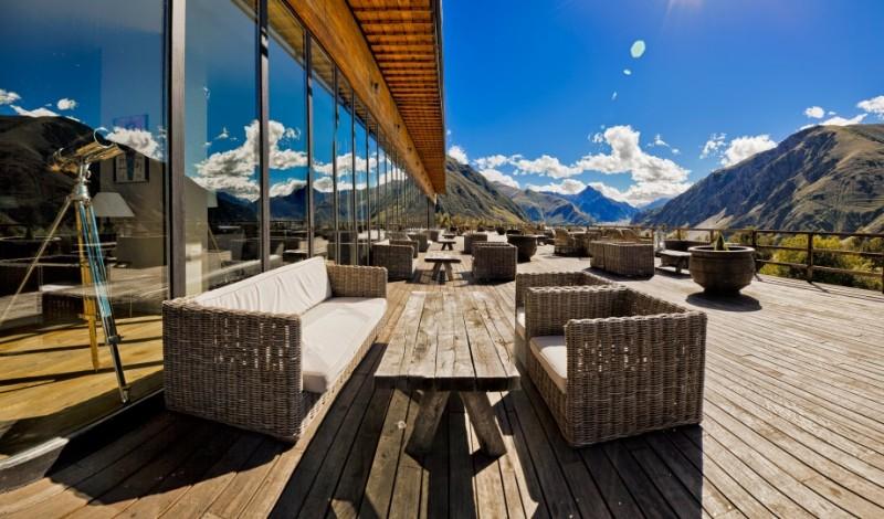 Rooms Hotel Kazbegi terrace
