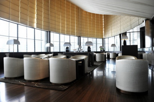 The Armani Hotel Dubai lounge