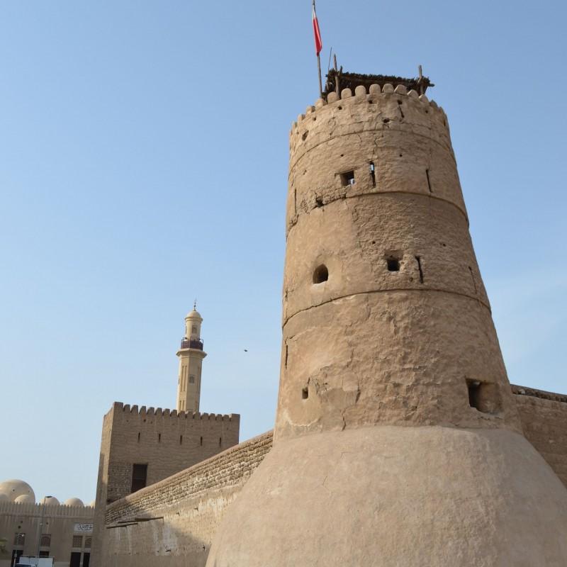 Dubai museum Al Fahidi Fort