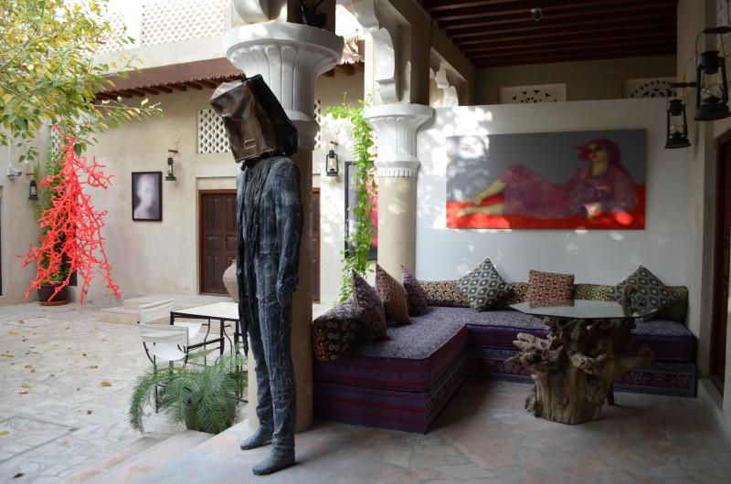 XVA art hotel dubai courtyard