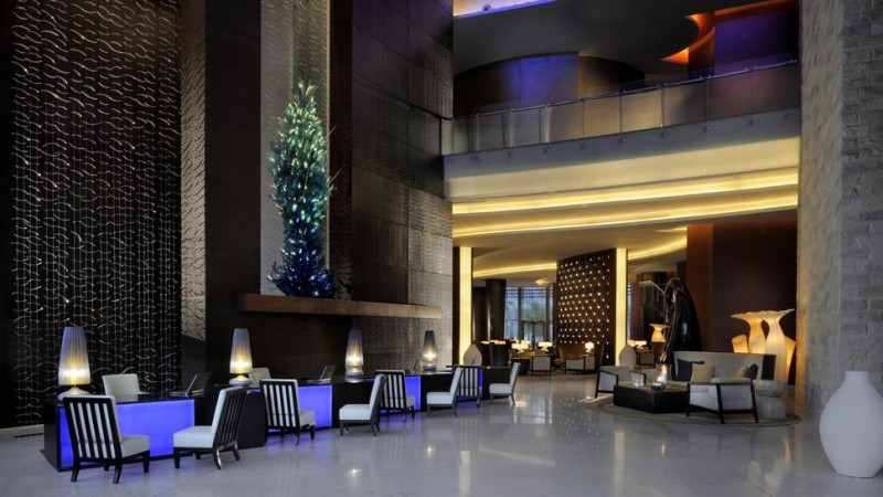 the Address Downtown Dubai Lobby