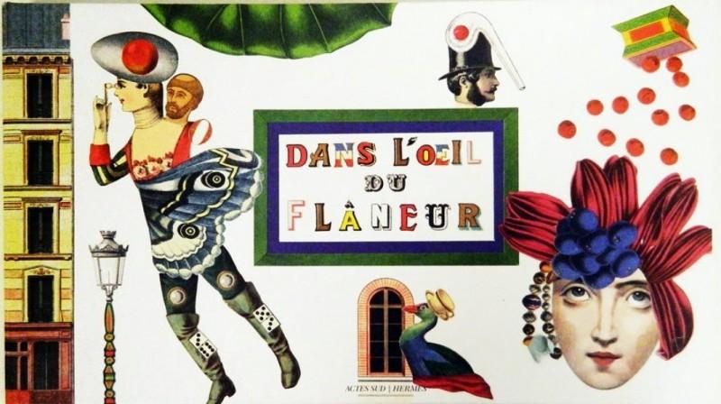 Dans l'oeil du Flâneur, Hermès - Actes Sud
