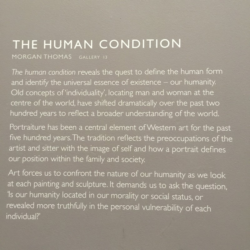 Art Gallery of South Australia the human condition