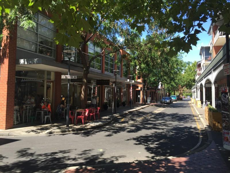 Vardon Avenue Adelaide