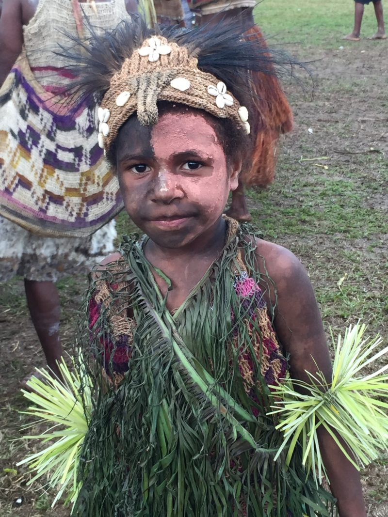 PNG Ambunti Crocodile festival kid