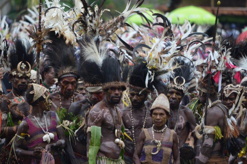 PNG Ambunti Crocodile festival singsing group