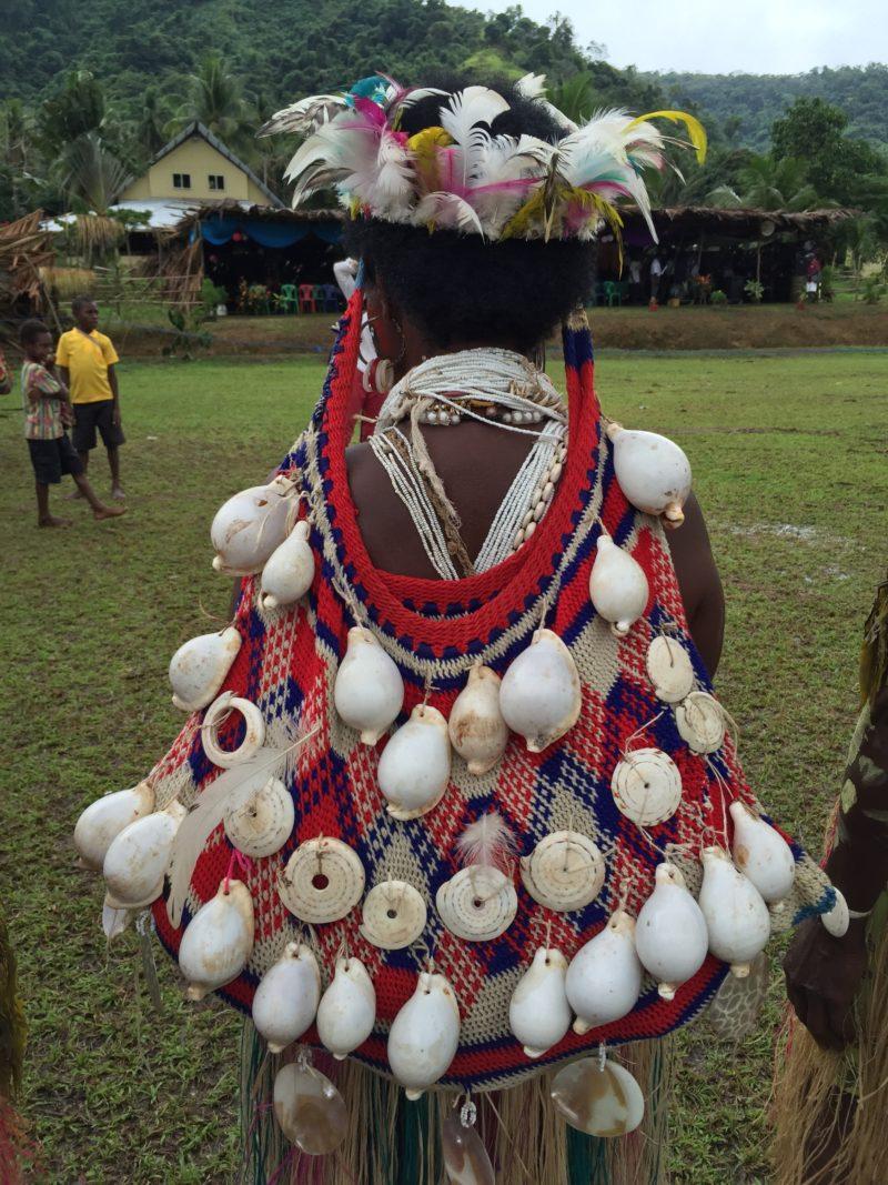 PNG Ambunti Crocodile festival tribeswoman