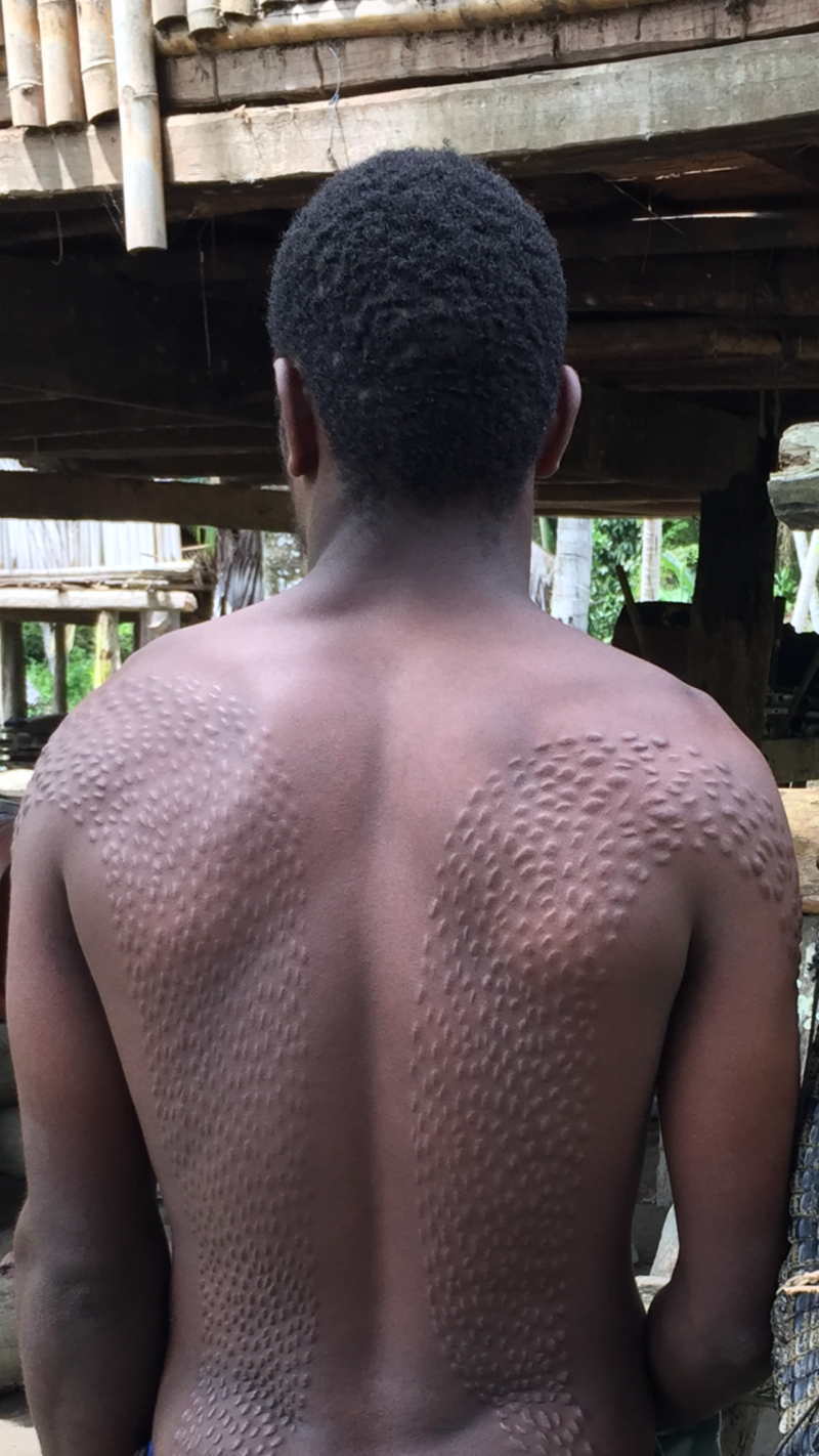 PNG Kanganamun scarifications
