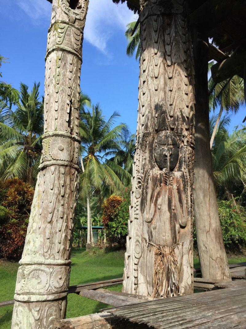 PNG Kanganamun Spirit house