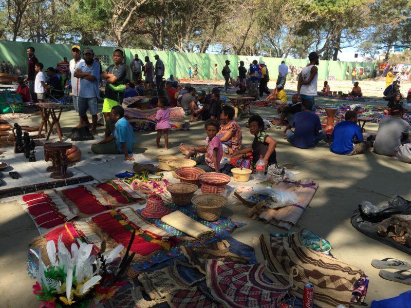 Port Moresby craft market