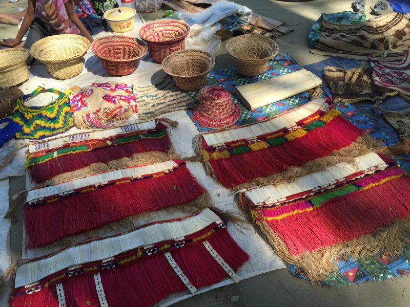 Port Moresby craft market